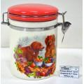 Банка для сыпучих  продуктов  Втреча 9,5*14см 600мл подарочная упаковка SL2520685 *24