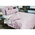 Комплект постельного белья 1,5 спальное Поплин НН Грань в.1 (брусничное)