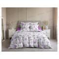 Комплект постельного белья 2,0 спальное с евро простынью Поплин 120гр НН Магнолия 2
