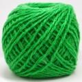 Пряжа 100% акрил 50гр130м (ярко зеленый) 45 *10