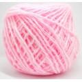 Пряжа 100% акрил 50гр130м (розовый)*10