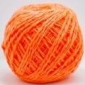 Пряжа 100% акрил 50гр130м (оранжевый) 11 *10