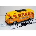 Автобус Школьный большой Хром сиденья W в пакете, 46359