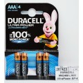 DURACELL MN2400 LR03 UltraPower BP-4 *4/40