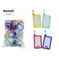 Бирка для ключей MAZARI 4,8*2,7см, М-2392*50