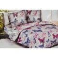 Комплект постельного белья Евро-стандарт Полисатин 5D диз. 4848/4847