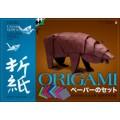 Бумага  АЛЬТ А4 8листов для оригами, декоративная со схемами,11-08-182/2*10