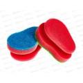 PRETTY HOUSE губка для посуды профильные 3D WASH 2шт *36