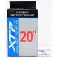 "Камера для велосипеда 20"" pro бутил A/V 3.0 Н=40мм  ХТР20/3 *12   гб"