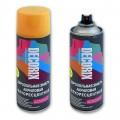 Аэрозольная эмаль флуоресцентная DECORIX, 520мл, оранжевый *12