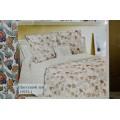 Комплект постельного белья Евро Лен Цветущий лен 18933-1