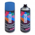 Аэрозольная эмаль молотковый эффект DECORIX, 520мл, синий *12