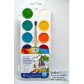 Акварель ГАММА Классическая медовая 12цветов пластиковая упаковка с кисточкой, 216019.01 *33