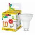 Лампа светодиодная ASD LED-JCDRC 10Вт GU10 3000К 900Лм *50