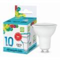 Лампа светодиодная  ASD LED-JCDRC 10Вт GU10 4000К 900Лм *50