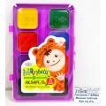 Акварель ГАММА Малыш naturals 8цветов пластиковая упаковка без кисти, 216001 *28