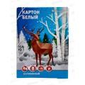 Картон белый А4 8листов schoolФОРМАТ школьный, КБМ8А4-ШК *50