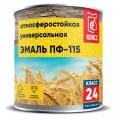 ЭМАЛЬ ПФ-115 синий 2,7кг Класс-24 мятая банка