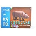 Бумага  АЛЬТ А4 8л для оригами декоративная со схемами,11-08-182/2*10
