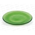 Блюдо 83-025-19см прозрачное красно зеленое 4840158335