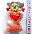 Ваза керамическая Цветы с сердцем (037124) *6
