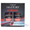 Compliment His Story carbon Подарочный Набор №1430 (шампунь+гель для душа) *8