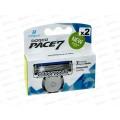 DORCO PACE7 (2шт),сменные кассеты с 7лезвиями