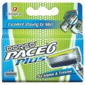 DORCO PACE6 Plus 4 кассеты с 6 лезвиями и триммером *12