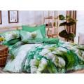 Комплект постельного белья 2,0 сп PANDORA сатин 5D дизайн 2133-9 (с ЕВРО простыней)