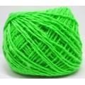 Пряжа 100% акрил 50гр130м (зеленое яблоко)*10