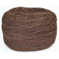 Пряжа 100% шерсть 250г  (Коричневый)