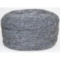 Пряжа 100% шерсть 250г  (Темно-серый)