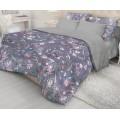 Комплект Постельного Белья 1,5 спальный Ранфорс ВН 21131+4268/4