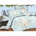 Комплект Постельного Белья 1,5 спальный PANDORA сатин   5D 9512