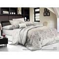 Комплект Постельногое Белья 1,5 спальный PANDORA сатин   5D 6462