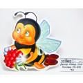 Декоративная Открытка ЛиС Пчелка, УС-036 *10