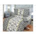 Комплект Постельного Белья 1.5 спальный 215*150 бязь набивная ,плотность 125 Герда