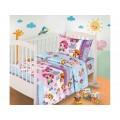 Комплект Постельного Белья детский бязь Лора 150*100