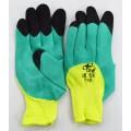 Перчатки нейлон №10 желт/зеленые №109  *12/720