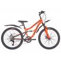 """Велосипед 24"""" 6ск RUSH HOUR FS 475 DISC ST оранж. рама 13"""" В 252111"""