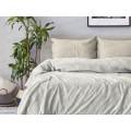 """Комплект постельного белья 1,5спальный поплин &quotPatrizia"""" (70х70) рисунок15966-2/15946-5 Mist"""
