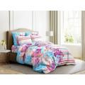 Комплект постельного белья 1,5спальное Бязь 120гр НН Акварель (голубой)
