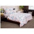 Комплект постельного белья 1,5спальное Поплин НН Акварельный цветок (персик)