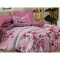 Комплект постельного белья 2,0 спальное PANDORA сатин 5D диз. 6285 (с ЕВРО простыней)