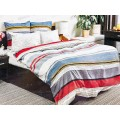 Комплект постельного белья 2,0спальное с евро простынью Поплин 120гр НН Стиль (серый)