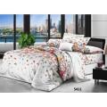 Комплект постельного белья  2,0 спальный PANDORA сатин  дизайн 5411 (с ЕВРО простыней)