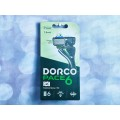DORCO PACE 6  NEW (станок + 2 кассеты), система с 6 лезвиями, SXA1002   *6