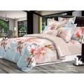 Комплект постельного белья  2,0спальный европростыня LUXOR Бязь Люкс Корица 112 PK A