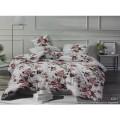 Комплект постельного белья  2,0спальный европростыня LUXOR Бязь Люкс 021 A