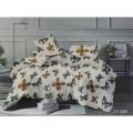 Комплект постельного белья 1,5спальный LUXOR Бязь Люкс 3384CY A
